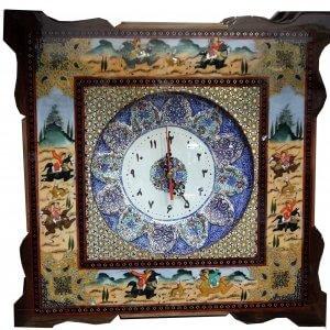 ساعت دیواری خاتم ،فروشگاه صنایع دستی نیلگون