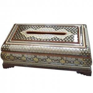 جعبه کلینکس خاتم ،فروشگاه صنایع دستی نیلگون