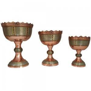 جام مس و خاتم کاری ،فروشگاه صنایع دستی نیلگون