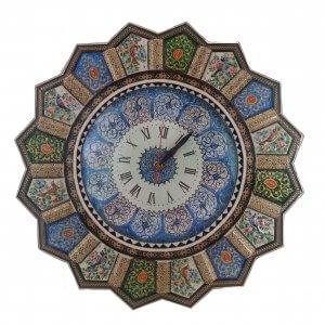 ساعت خاتم كاری خورشیدی ،فروشگاه صنایع دستی نیلگون