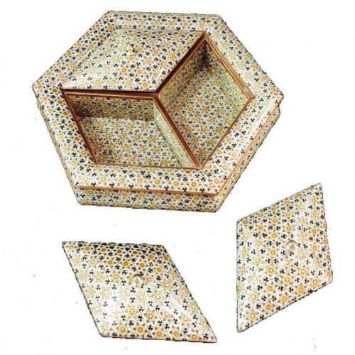 جعبه شکلات خوری خاتم ،فروشگاه صنایع دستی نیلگون