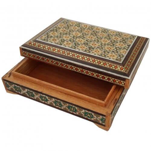 جعبه خاتم کاری جاکارتی ،فروشگاه صنایع دستی نیلگون