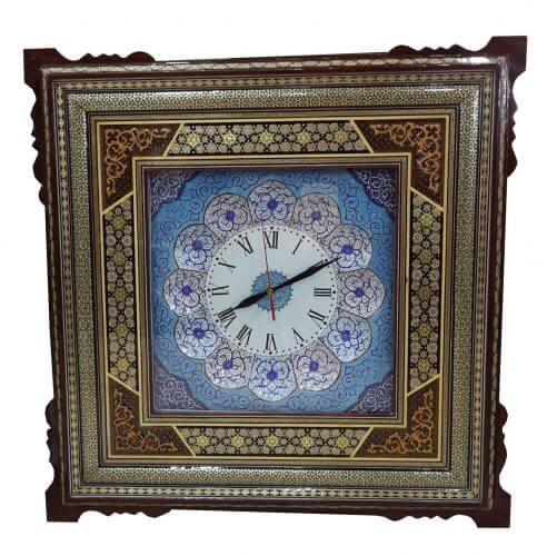 ساعت خاتم کاری و میناکاری ،فروشگاه صنایع دستی نیلگون