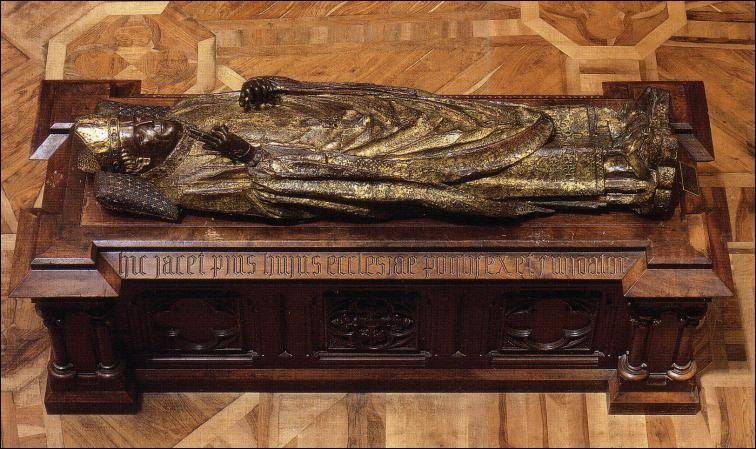 قبر میناکاری شده اسقف ماریسیو، برگس ، اسپانیا